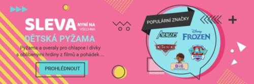 Reklamní banner dětské oblečení