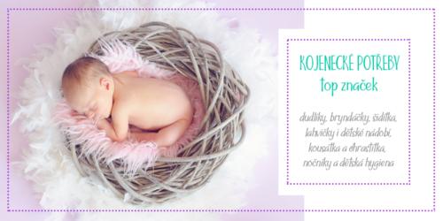 Reklamní banner kojenecké potřeby