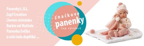 Reklamní banner panenky