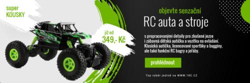 Reklamní banner RC auticka