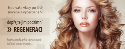 Reklamní banner kosmetika